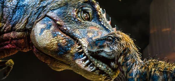 T-Rex und Baby