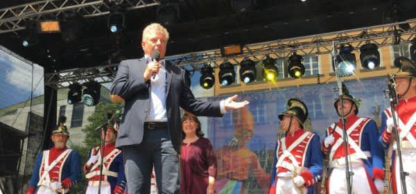 Stadtgründungsfest 2018 in München.