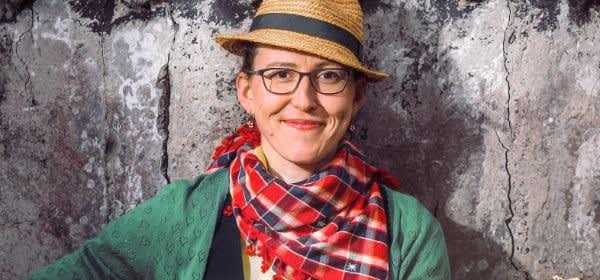 Die bayerische Kabarettistin Martina Schwarzmann