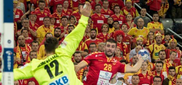 Handball: Mazedonischer Spieler