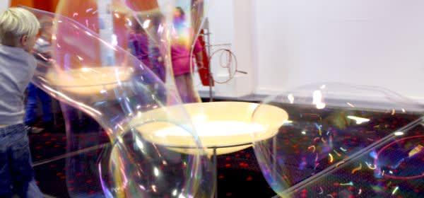 Seifenblasen - Ausstellung im Kindermuseum