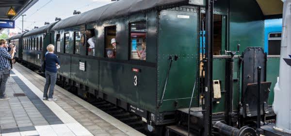 Historische Lokfahrten am Ostbahnhof