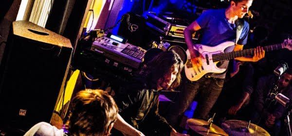 Die Band Organ Explosion live