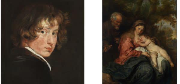 Van Dyck in der Alten Pinakothek