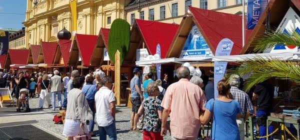 Handwerkerdorf beim Stadtgründungsfest