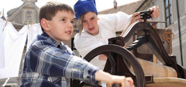 Kinderprogramm beim Stadtgründungsfest