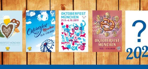 Banner für den Oktoberfest-Plakatwettbewerb