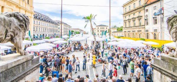 Bayerisches Genussfestival auf dem Odeonsplatz