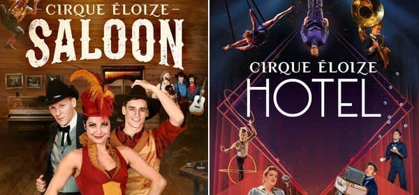 Die Shows Hotel und Saloon des Cirque Éloize