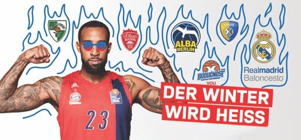 Winter-Highlights beim FC Bayern Basketball