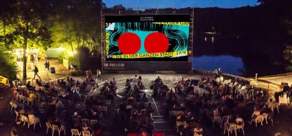 Filmfest München im Kino, Mond und Sterne im Westpark