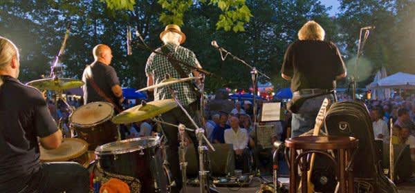 Bluesfest auf dem Rotkreuzplatz