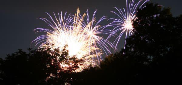 Kino Mond und Sterne Sommerfest: Feuerwerk