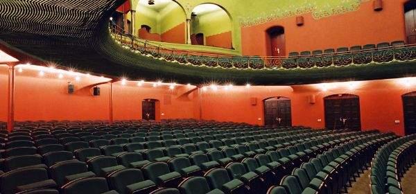 Zuschauerraum der Münchner Kammerspiele