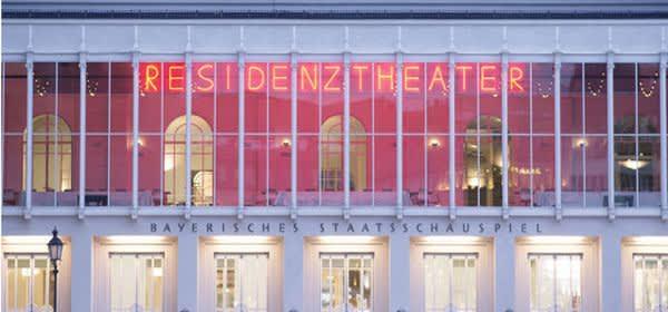 Fassade des Residenztheaters München