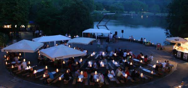 Impressionen zum Weinfest an der Seebühne.