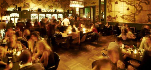Im Haus der Kunst: Die Goldene Bar
