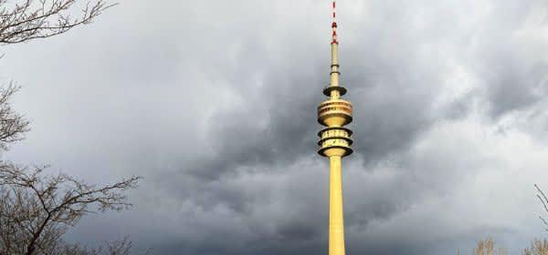 Sturmtief in München