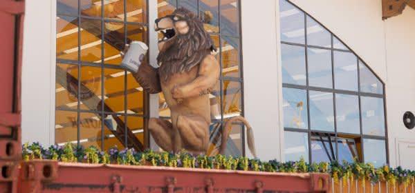 Löwenbräu-Zelt auf dem Oktoberfest