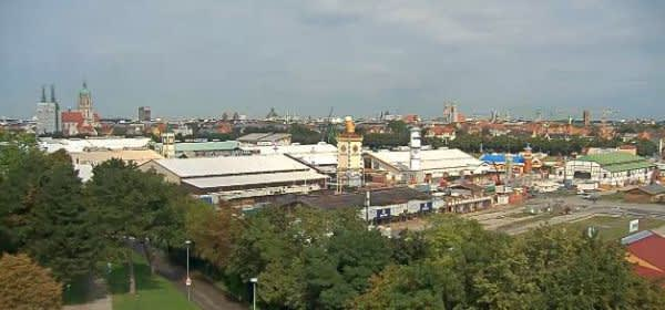 Wiesn-Webcam aus Sicht der Bavaria