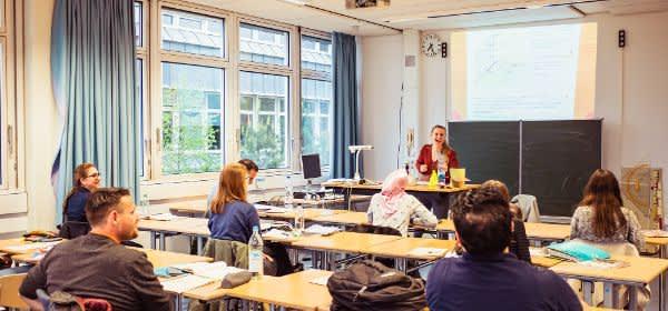 Unterricht am Städtischen Abendgymnasium München