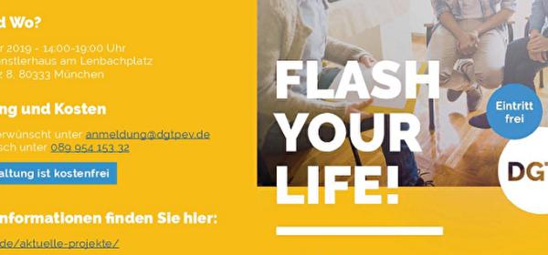 """""""Flash your life!"""" Mehr Lebensenergie - So stärken Sie Ihre seelische Gesundheit"""