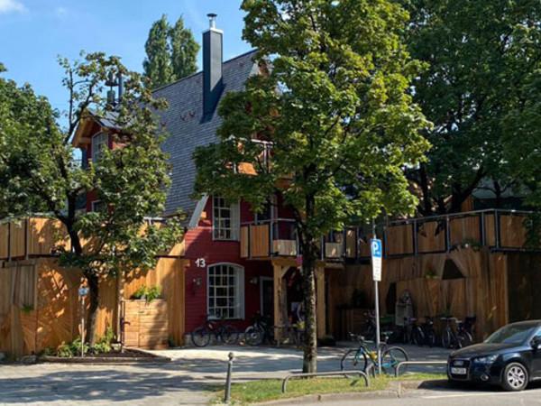 Das Kulturcafé Gans Woanders in der Pilgersheimer Straße