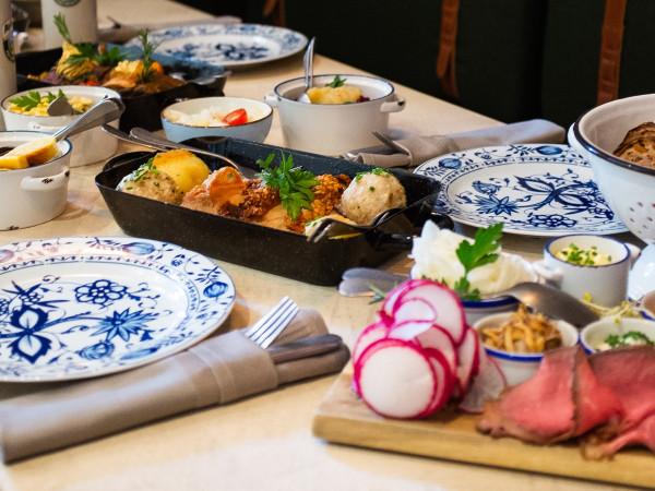 Essen gehen im bayerischen Wirtshaus