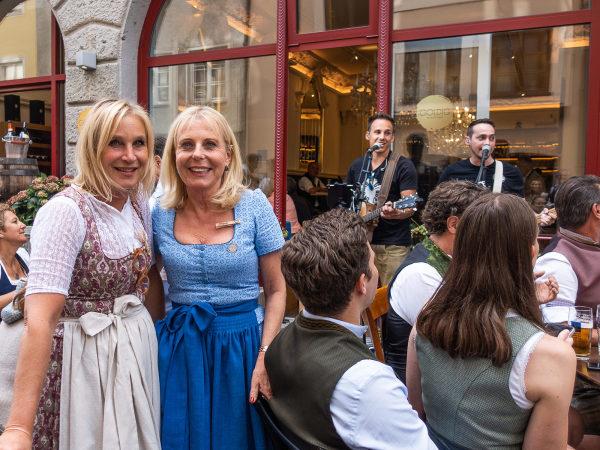 Lisa Strauss und Irene Scopel vom Goldig