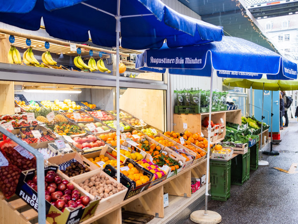 Der Elisabethmarkt in Schwabing
