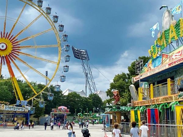 Riesenrad am Coubertinplatz