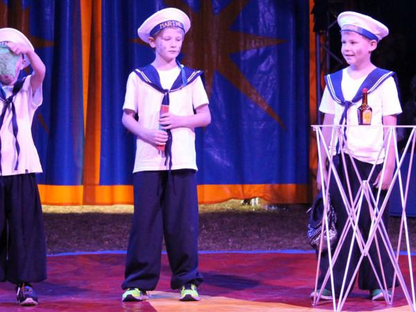 Zirkus Nordini - Auftritt