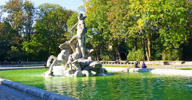 Alter Botanischer Garten In Munchen Offizielles Stadtportal