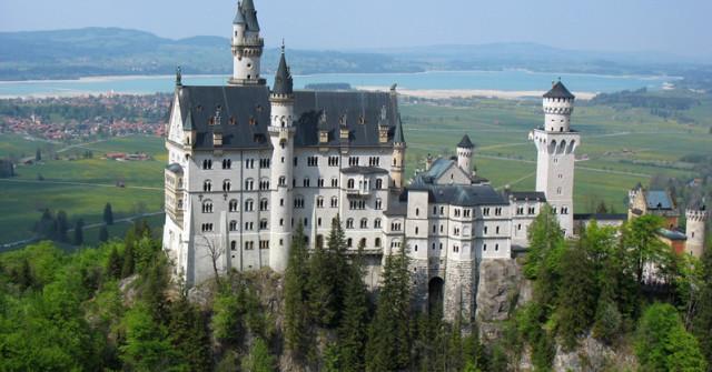 Schloss Neuschwanstein Märchenschloss Von König Ludwig Ii