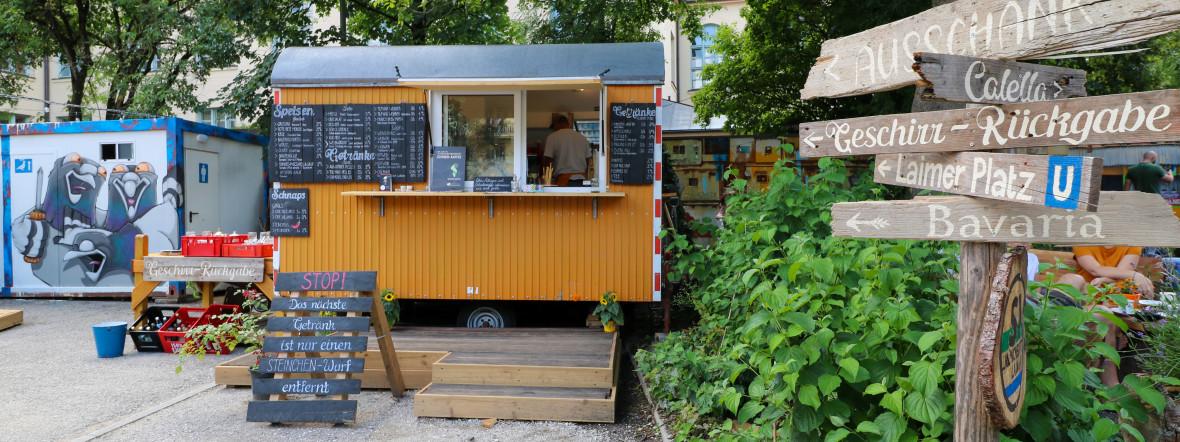 Das neue Café Steinchen in Laim