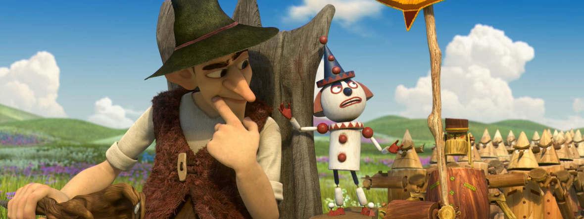 """Szene aus dem Film """"Urfin - Der Zauberer von Oz"""""""