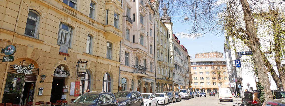 Glockenbachviertel: Hans-Sachs-Straße