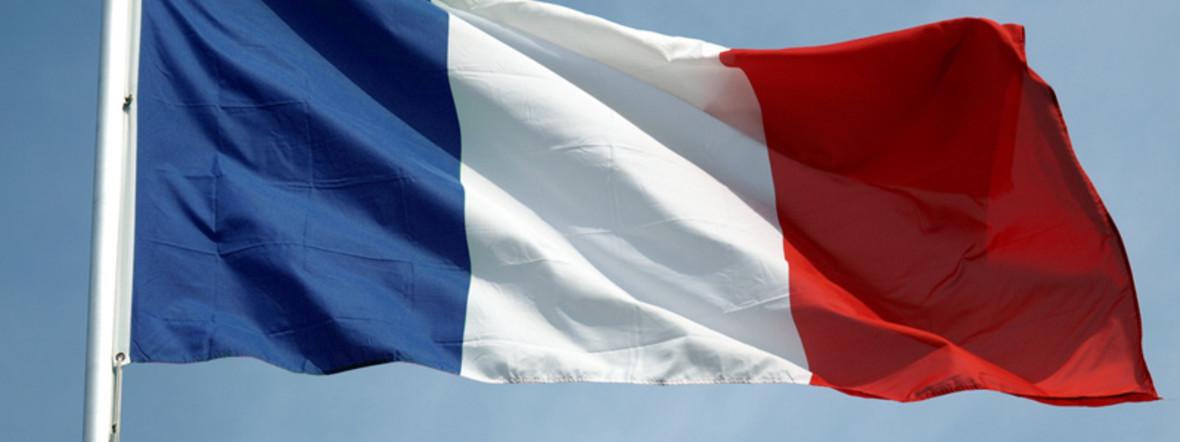 Französische Flagge