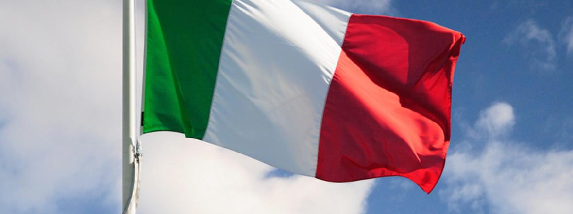 Italienische Flagge