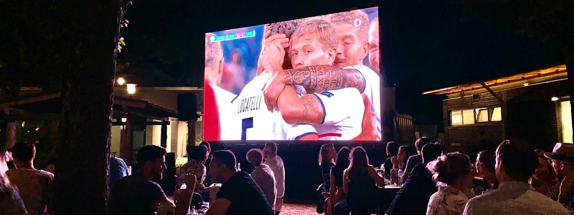 1:0 für Italien bei der UEFA EURO 2020 am 11. Juni 2021