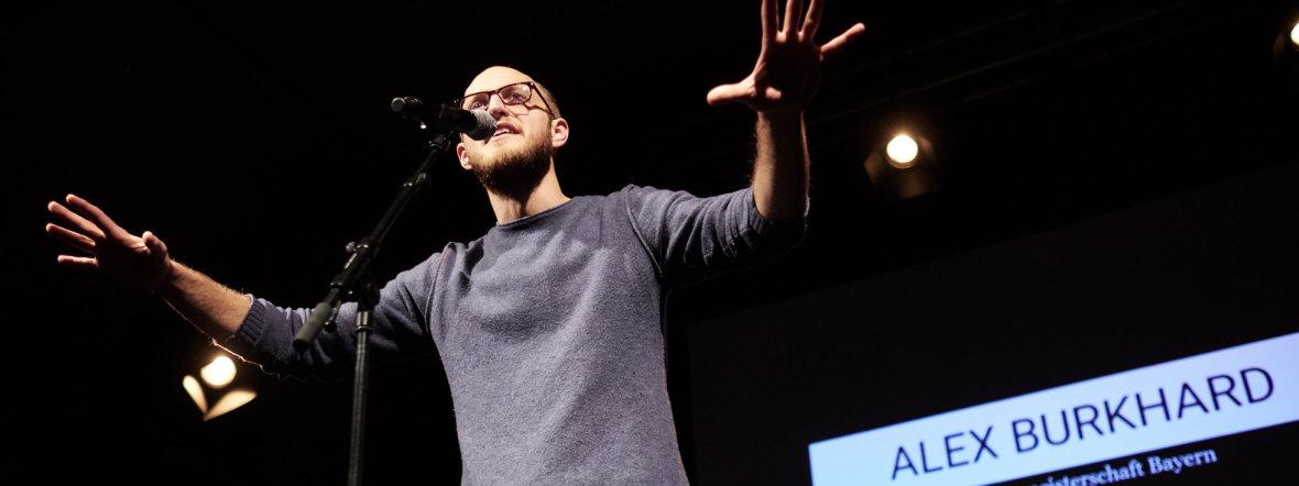 Poetry Slammer Alex Burkhard