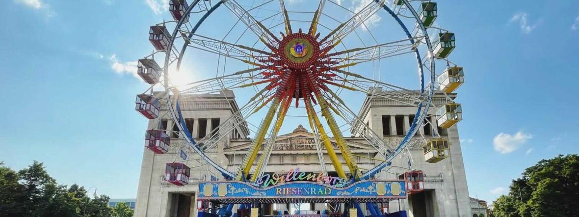 Riesenrad am Königsplatz