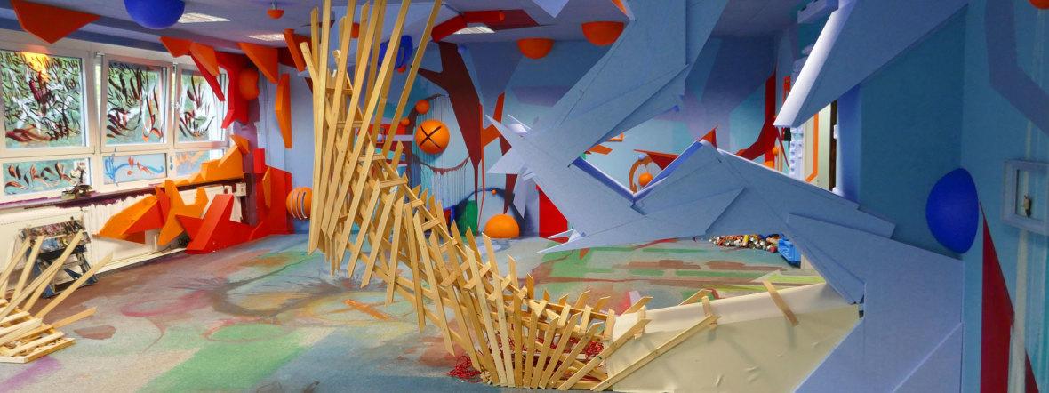 Installation von Z-Rok und Elias bei Z Common Ground