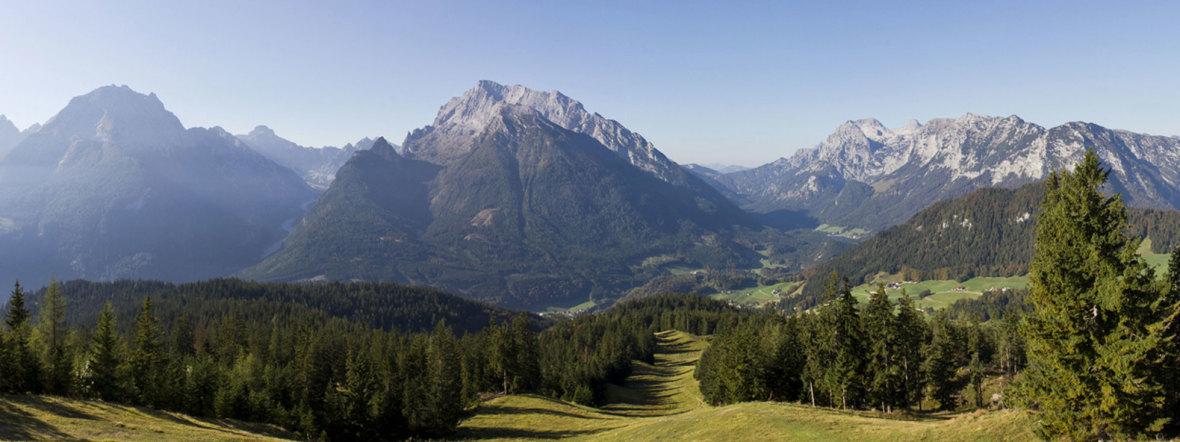 Ausblick Berchtesgadener Land , Foto: Berchtesgadener Land Tourismus