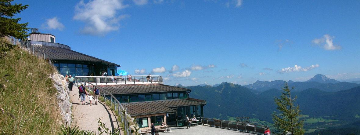 Brauneck Gipfelhaus, Foto: Tölzer Land Tourismus/Klaus Knirk