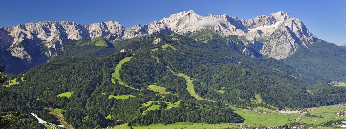 Die Region Wettersteingebirge um Garmisch-Partenkirchen , Foto: Markt Garmisch-Partenkirchen/Lutz
