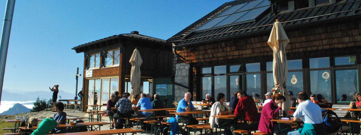 Hochries Gipfelhütte , Foto: DAV - Deutscher Alpenverein e.V.