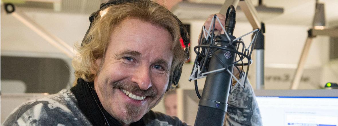 Thomas Gottschalk moderiert ab Januar 2017 einmal im Monat eine Radiosendung auf Bayern 1., Foto: BR/Ralf Wilschewski