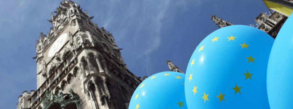 Europatag am Marienplatz , Foto: Michael Nagy/Presseamt München