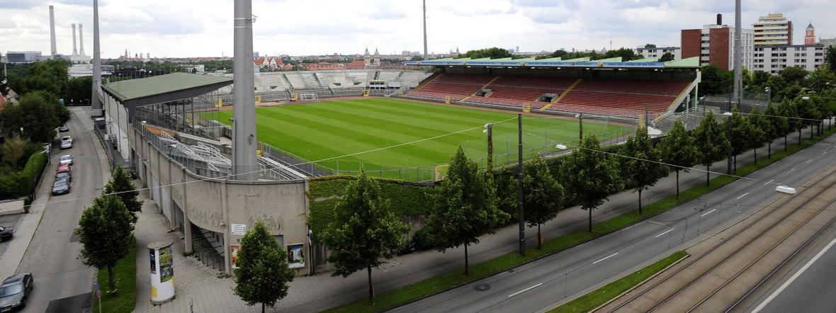 Das Grünwalder Stadion, Foto: TSV 1860 München
